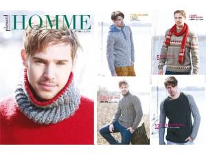 PLASSARD 96-Catalogue de modèles à tricoter pour homme
