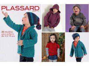 Enfant 118 -catalogue de modèles à tricoter-Plassard