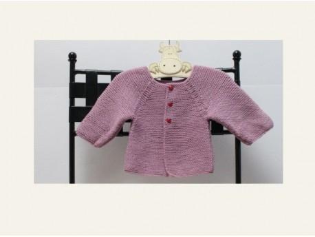 Kit-à tricoter-brassière de naissance Acidulée-Vos doigts ont la parole