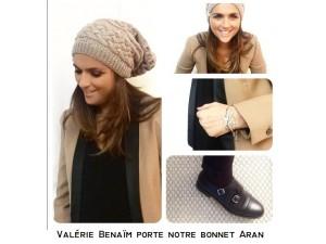 Bonnet pour Valérie Benaïm