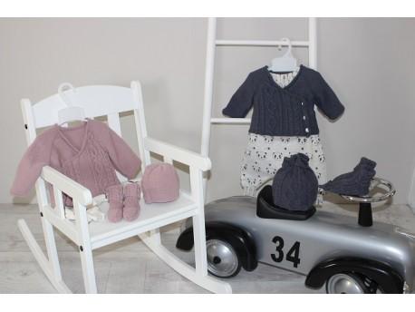 Kit à tricoter pour jumeaux Monozygote