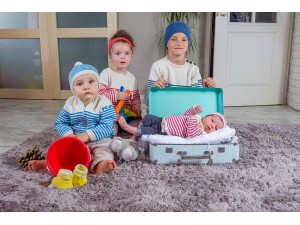 Gang de cousins- La mini- La marinière 100 % coton