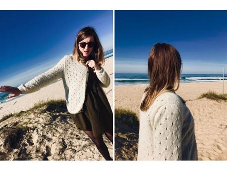 Tutoriel tricot gratuit- Gilet femme spécial Jours Printanier
