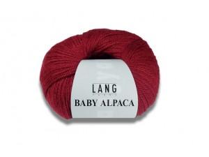 Baby Alpaca -Lang Yarns.