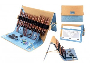 Le set d'aiguilles à tricoter Ginger Deluxe de KnitPro