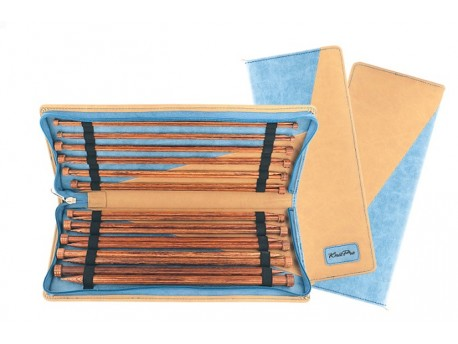 Set d'aiguilles droites Ginger Deluxe de KnitPro
