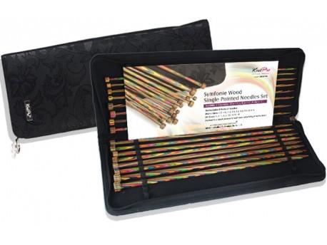 Trousse d'aiguilles droites Symfonie Knit Pro -2