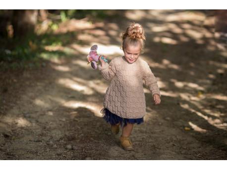 Kit à tricoter Effet Papillon robe tunique